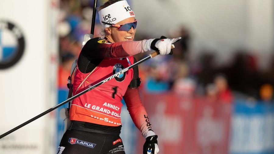 Biathlon - A causa di una cistite è in dubbio la presenza di Eckhoff al Blinkfestivalen