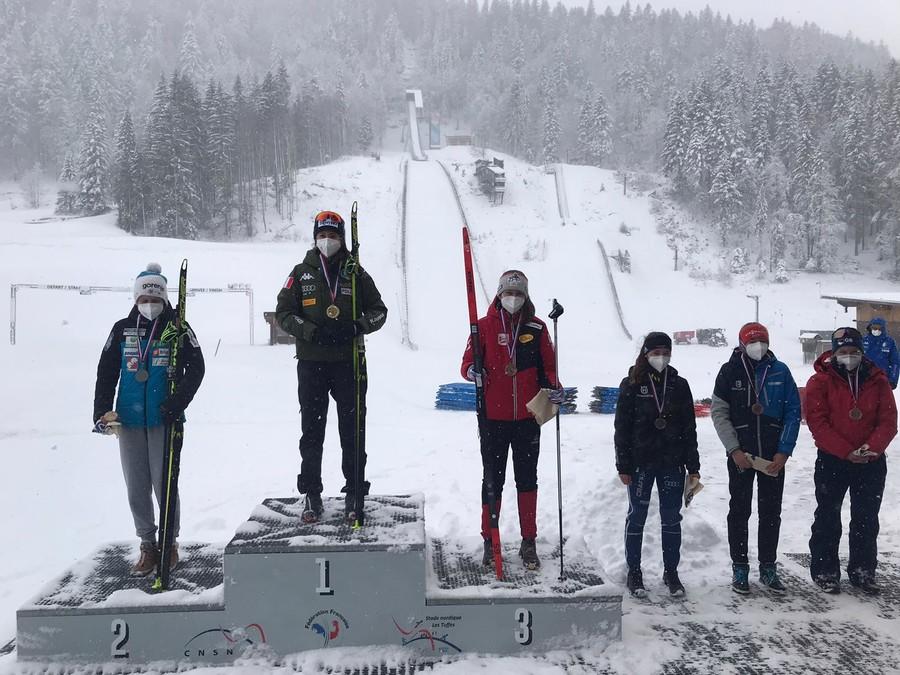 Combinata Nordica - Bis di Annika Sieff in OPA Cup a Premanon; sesto Mariotti tra gli uomini