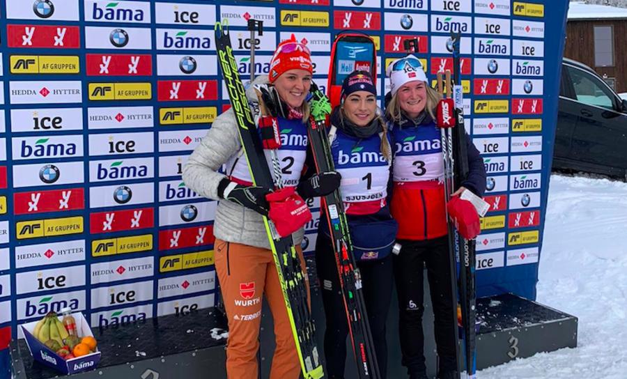 """Biathlon - Wierer dopo la bella vittoria di Sjusjøen: """"Anterselva è l'obiettivo principale ma ora sono concentrata su Östersund"""""""