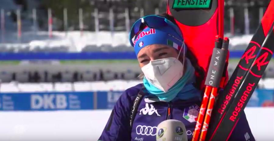 """Biathlon - Dorothea Wierer: """"È bello vincere qualcosa in una stagione per me così difficile"""""""