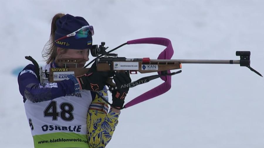 Biathlon, Mondiali Juniores: successo a sorpresa dell'ucraina Bekh nella sprint
