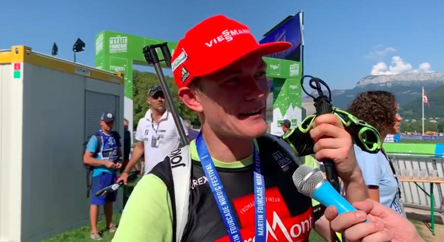 """Biathlon - Benedikt Doll: """"L'obiettivo è entrare nella top six della classifica generale"""" (VIDEO)"""