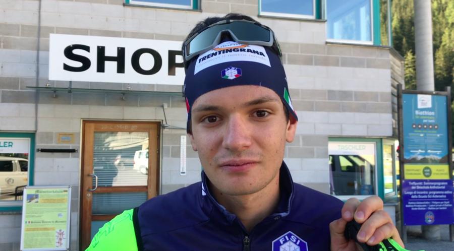 """VIDEO, Biathlon - Tommaso Giacomel: """"Dai compagni sto imparando che bisogna avere anche tanta pazienza"""""""
