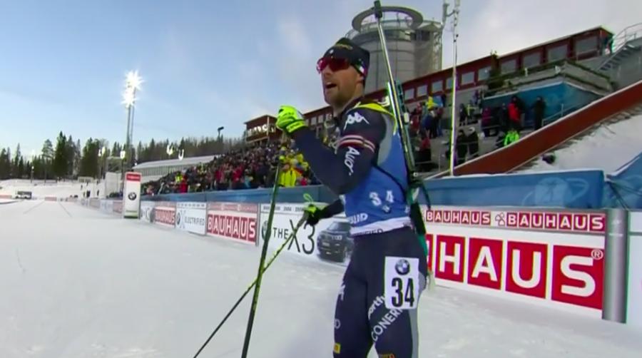 """Biathlon - La soddisfazione di Bormolini: """"Bello iniziare la stagione con il miglior risultato in carriera"""""""