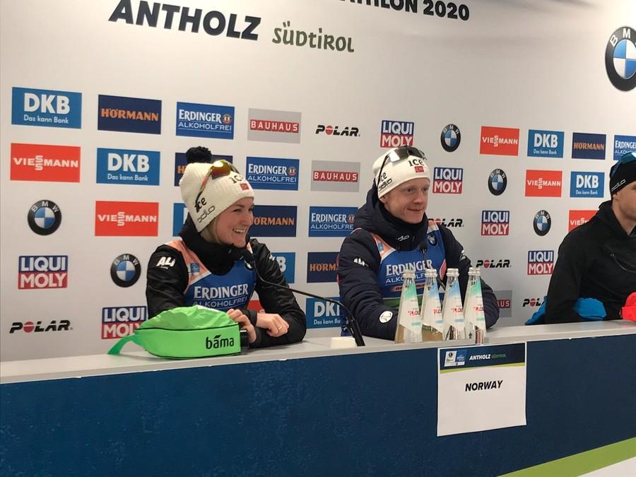 Biathlon - La nazionale norvegese raggiungerà l'Italia senza Johannes Bø e Marte Olsbu Røiseland