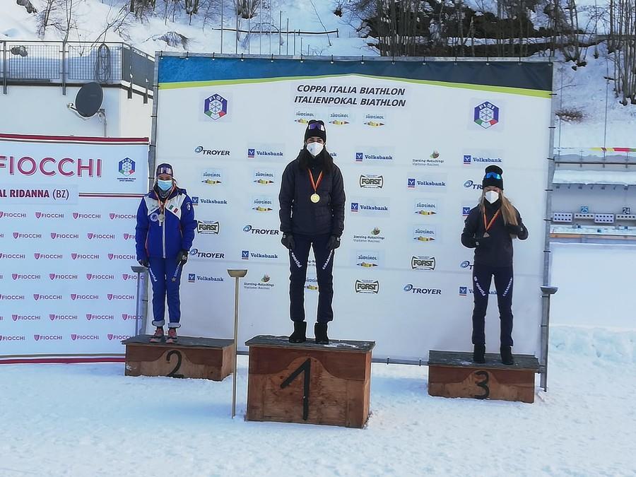 Biathlon - Coppa Italia in Val Ridanna: Rebecca Passler vola nella sprint juniores, Gontier vince tra le senior