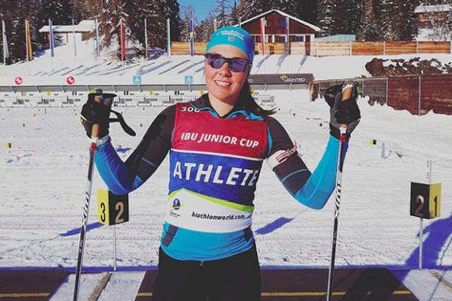 Biathlon - Europei Juniores: la 2000 Camille Bened vince un altro oro