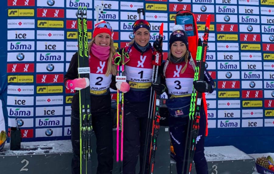 """Biathlon - Lisa Vittozzi è soddisfatta: """"Sono felice di aver iniziato così"""""""