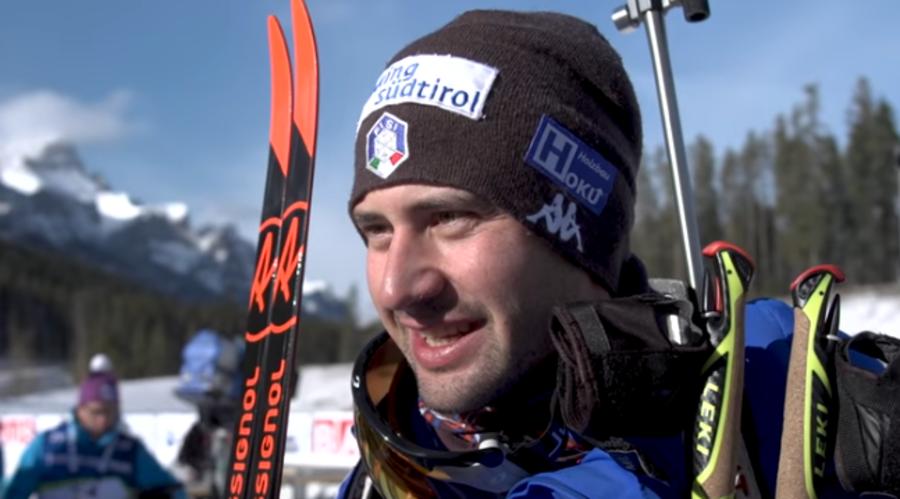 "Biathlon - Dominik Windisch all'IBU: ""Mi trovo sempre bene qui a Canmore"""
