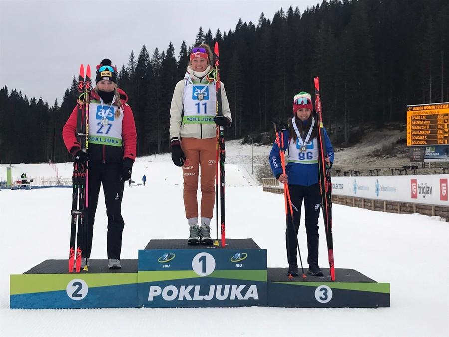 Biathlon - Bravissima Beatrice Trabucchi! Parte con un podio la stagione azzurra in IBU Cup Junior