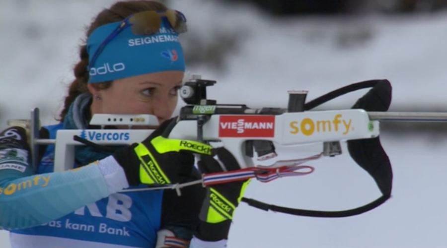 "Biathlon - Anais Chevalier: ""Sarà una bella gara a inseguimento"""
