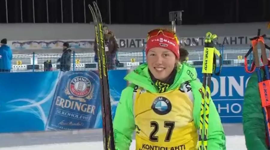 Biathlon - Laura Dahlmeier inizia il corso per ottenere la licenza da allenatore