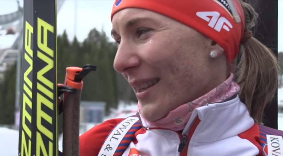 """Biathlon - L'emozione di Kuzmina: """"Questo sport sarà sempre parte di me"""""""