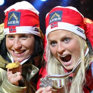 """Fondo - Bjørgen è tornata ad allenarsi, ma che fatica nella sessione con Johaug: """"C'è ancora molta strada da fare"""""""