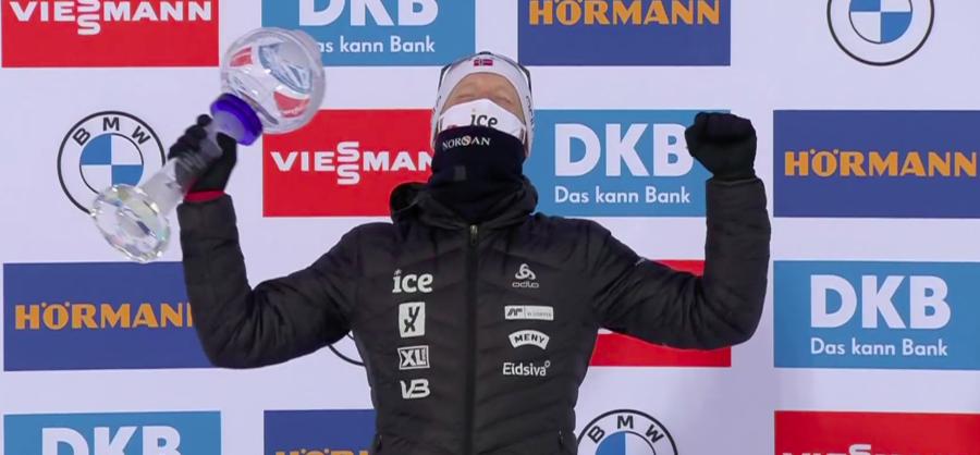 Biathlon - Sponsor milionario per Johannes Bø fino alle Olimpiadi di Milano-Cortina 2026
