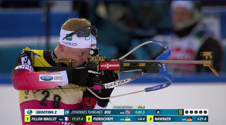 Biathlon, Mondiali Östersund – Prosegue la stagione perfetta di Johannes Bø, suo l'oro nella Sprint