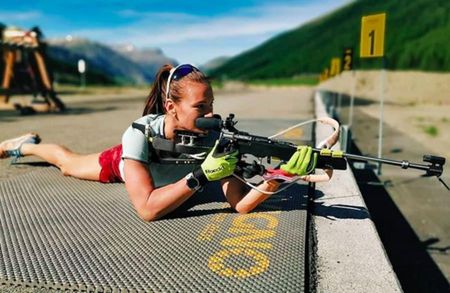 Foto dal profilo instagram dell'atleta