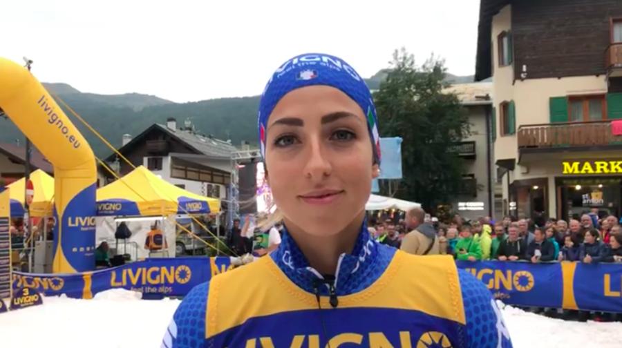 """VIDEO, biathlon - Lisa Vittozzi: """"Sono sicura che sto lavorando nel modo giusto"""""""
