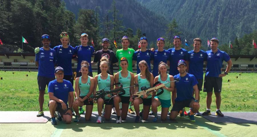 """Biathlon - Mirco Romanin: """"Al tiro abbiamo poco da invidiare agli altri, ora chiudiamo il gap sugli sci"""""""