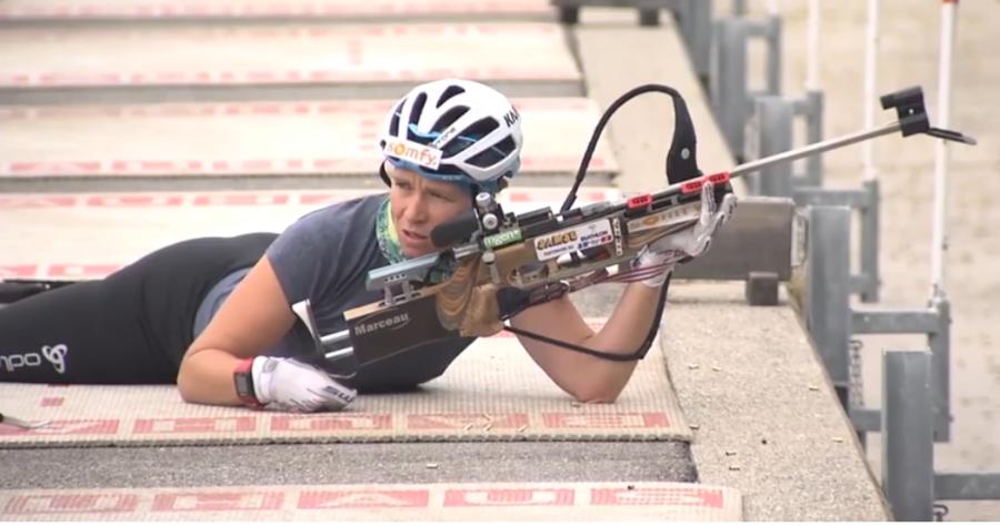 "Biathlon - Anais Bescond sta recuperando: ""Sono tornata a pattinare"""