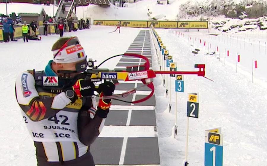 Biathlon - Mass Start maschile B a Sjusjøen: vince Florent Claude, Cappellari 14°