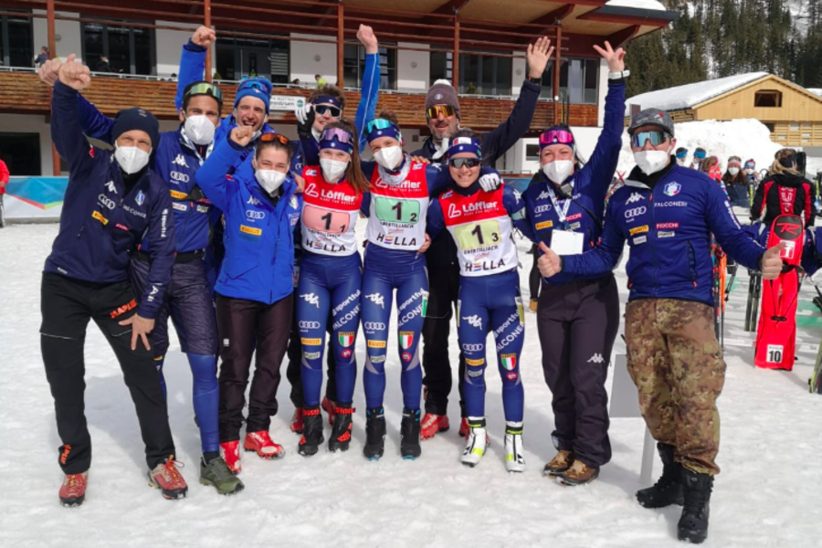Biathlon - Bronzo per l'Italia nella staffetta femminile Youth del Mondiale di Obertilliach