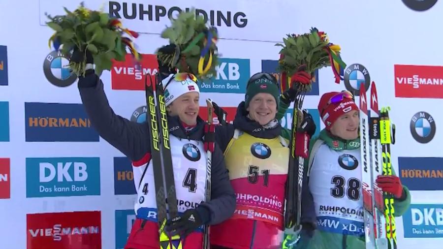 Biathlon - Coppa del Mondo: a Ruhpolding è doppietta dei fratelli Bø, Johannes davanti a Tarjei