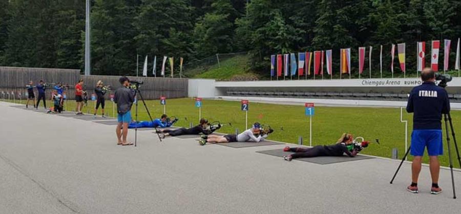"""Biathlon - Squadre """"Elite"""" e """"A"""" al lavoro a Ruhpolding"""