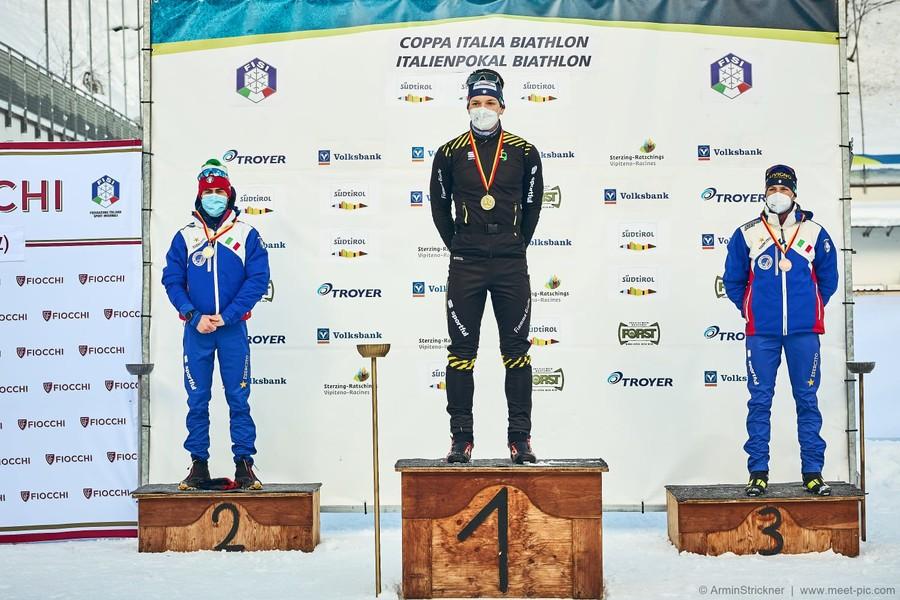Biathlon - Le classifiche e la fotogallery dei podi della tappa di Coppa Italia in Val Ridanna