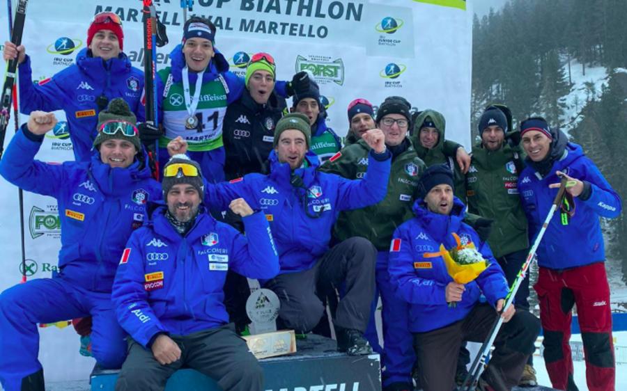 IBU Cup Junior - Bella Italia nella sprint in Val Martello: Giacomel è 3°, Fauner 4°
