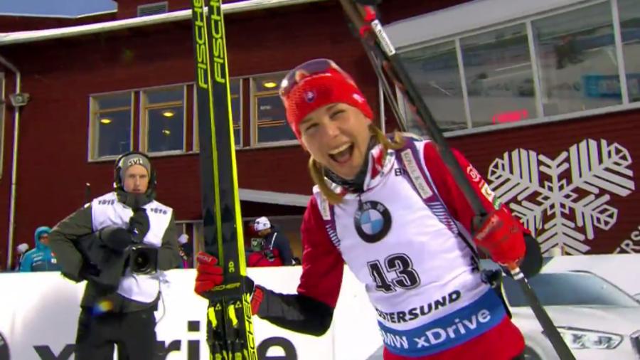 """Biathlon - Kuzmina dopo l'oro: """"Stare male mi ha probabilmente aiutato"""""""