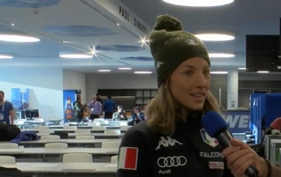 """VIDEO, Biathlon - Federica Sanfilippo: """"Sarebbe bello vincere una medaglia in staffetta"""""""