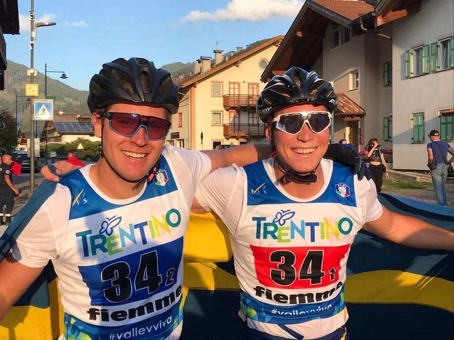 Skiroll - Mondiali Val di Fiemme: la Svezia vince la team sprint maschile, quarti Tanel e Francesco Becchis