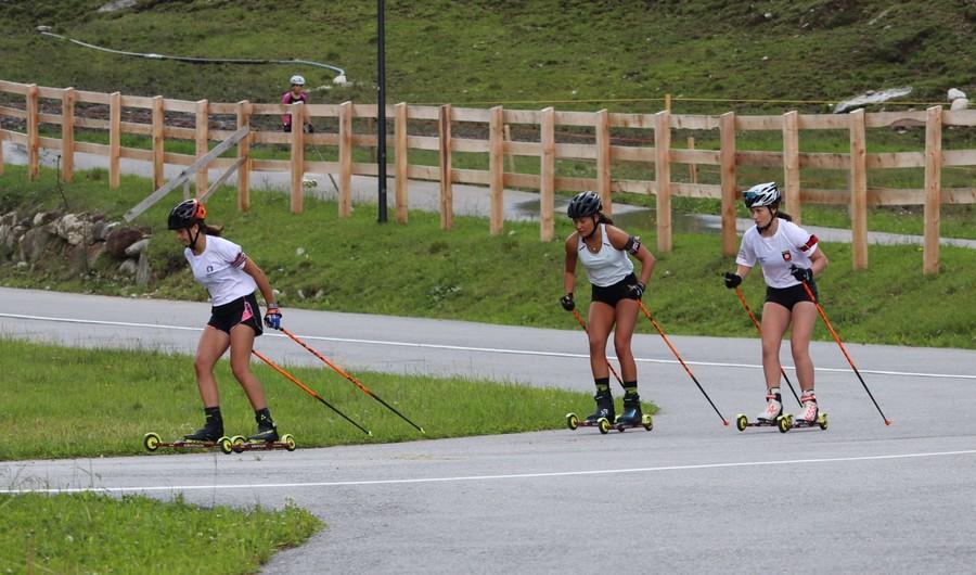 FOTOGALLERY - Biathlon, si è concluso il raduno degli azzurrini in Val Martello