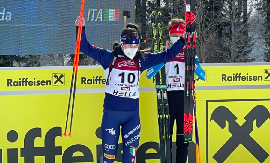 """Biathlon - Martina Trabucchi: """"La stagione è andata oltre le mie aspettative"""""""