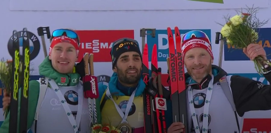 Biathlon - Partenza vincente per Fourcade, l'individuale di Pokljuka è sua