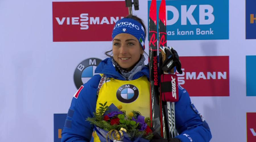 """Biathlon - Lisa Vittozzi argento e coppa di specialità: """"È una giornata magnifica"""""""