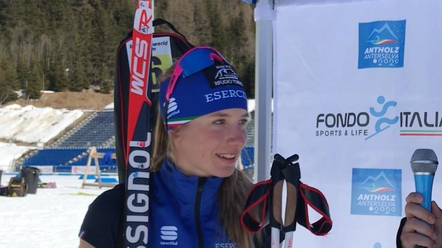 """Anterselva 2020, Michela Carrara fuori dalle 60 nella sprint femminile: """"Non sono soddisfatta della mia prestazione"""""""
