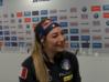 Il sorriso di Wierer nell'intervista pre Mondiale ad Anterselva