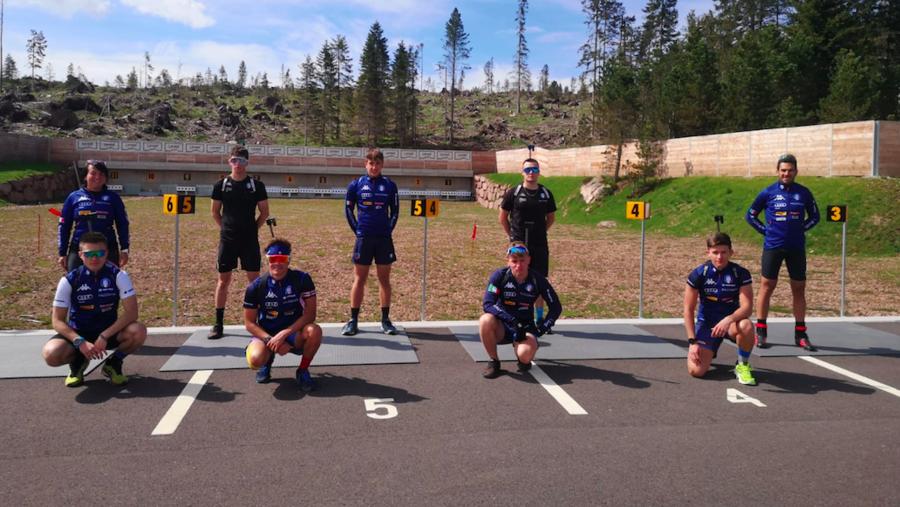 Biathlon - La FOTOGALLERY dal raduno della nazionale juniores e giovani a Lavazè