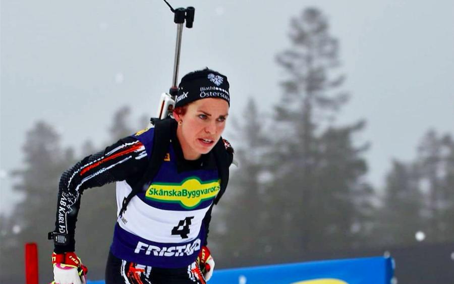Biathlon, IBU Cup: successo di Elisabeth Hoegberg nella 10 km Pursuit femminile