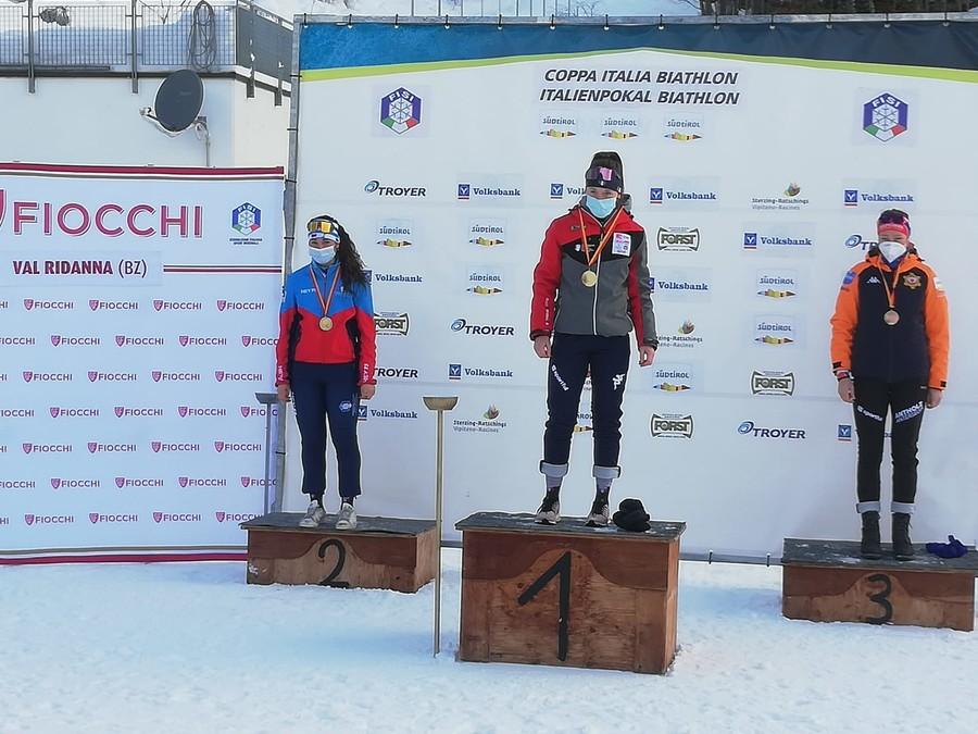 Biathlon - Coppa Italia: a Ridanna, Martina Trabucchi vince la sprint giovani e Matilde Salvagno la gara aspiranti