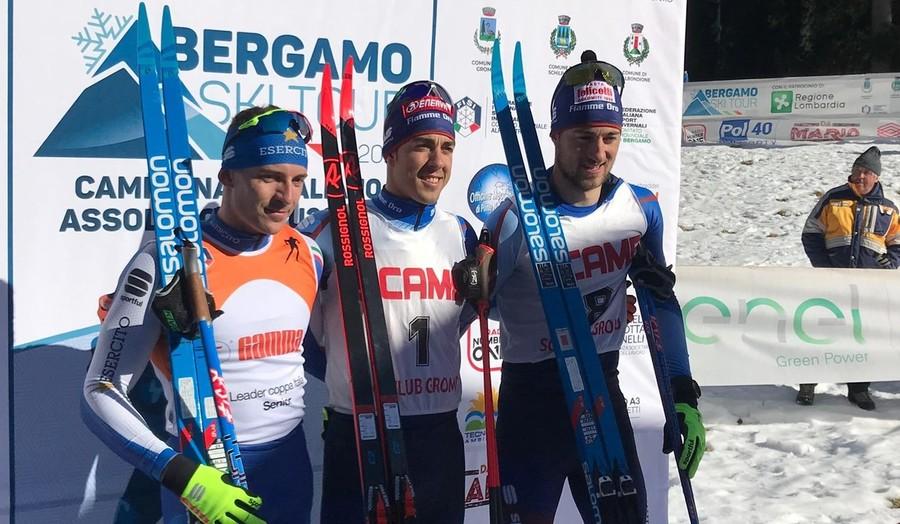 Fondo, Bergamo Ski Tour: Federico Pellegrino e Lucia Scardoni si aggiudicano il titolo italiano nella sprint (VIDEO)