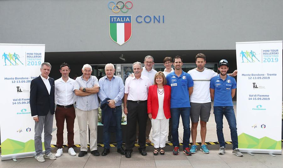 Skiroll - In Trentino presentato il Minitour Rollerski 2019 che chiuderà la Coppa del Mondo