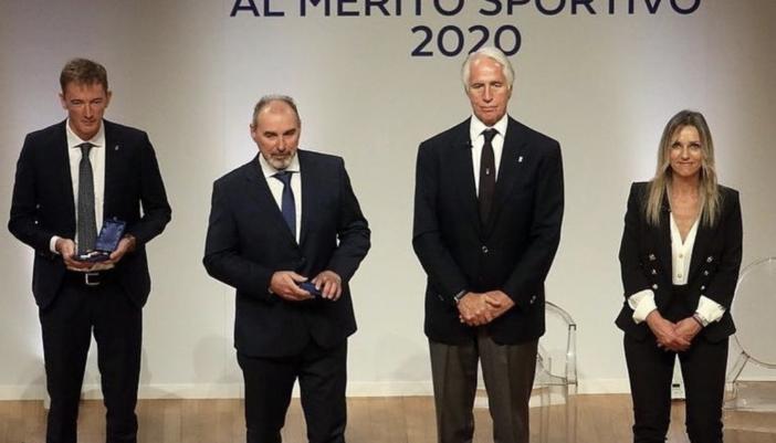 """Fabrizio Curtaz dopo il premio ricevuto dal CONI: """"Un riconoscimento a tutto il biathlon italiano"""""""