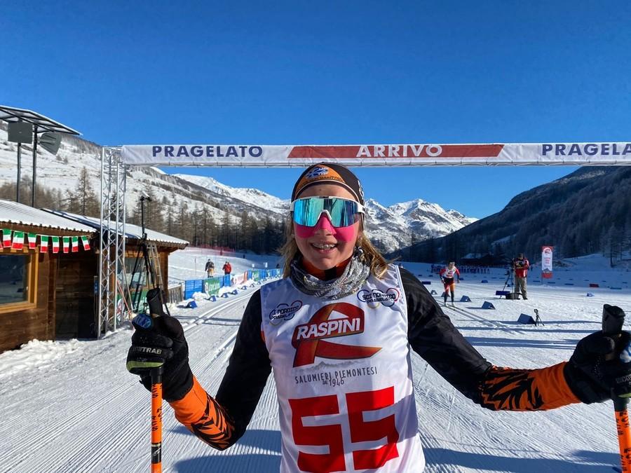 Fondo - Coppa Italia Rode a Pragelato Mass Start femminile ecco le vincitrici: per le U16 Carlotta Gautero, per le U18 si conferma Elisa Gallo e per le U20 Beatrice Bastrentaz