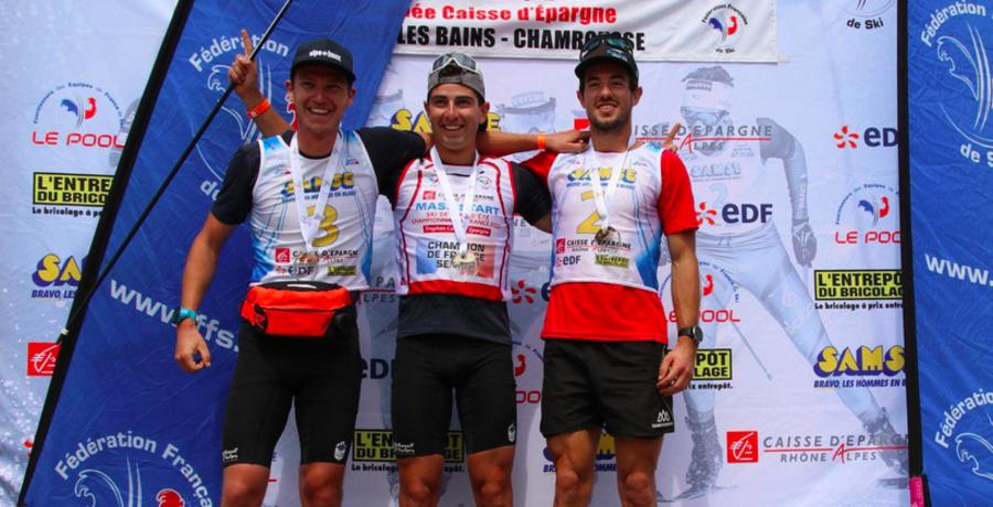 Fondo - Campionati Estivi in Francia: tante conferme e una sorpresa, Camille Laude