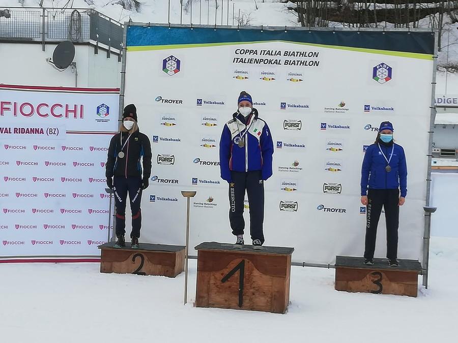 Biathlon - Coppa Italia in Val Ridanna: Comola e Trabucchi vincono di precisione la pursuit senior e juniores