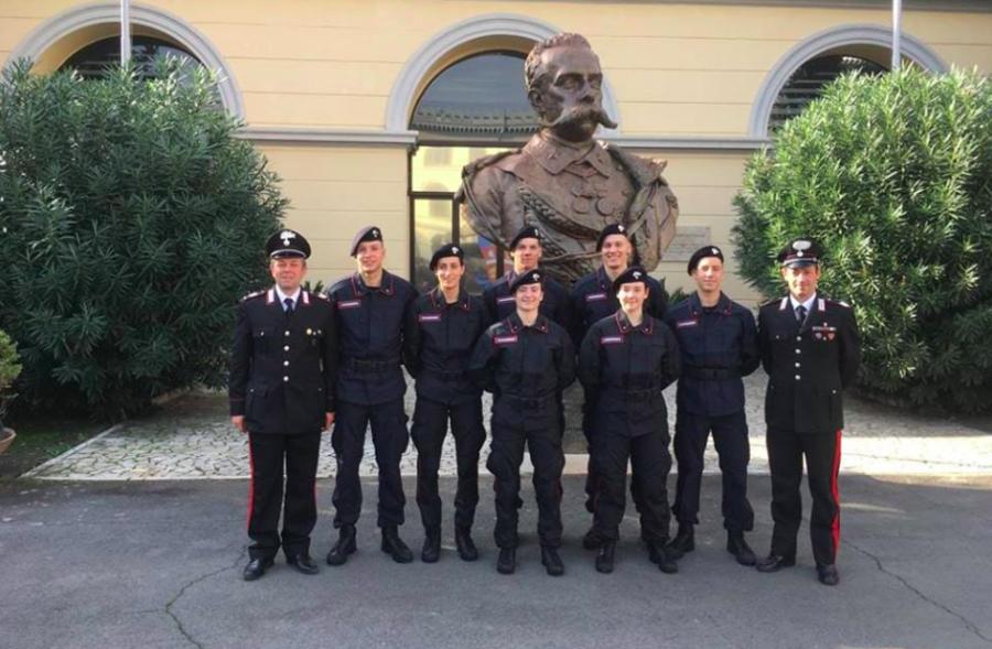 Iniziato l'addestramento per i nuovi entrati nel Centro Sportivo Carabinieri