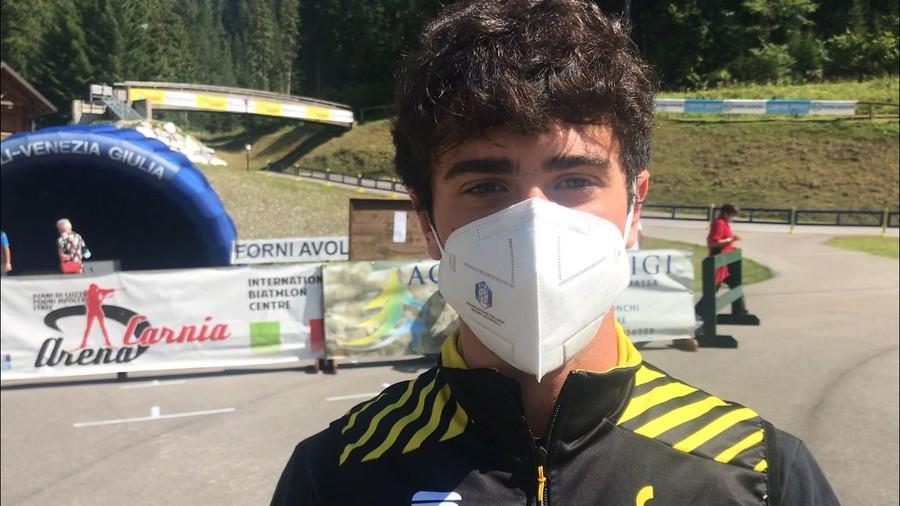 """Sci di Fondo - Il giovane Davide Ghio: """"È un onore allenarmi con compagni di squadra così competitivi"""""""